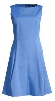 Derek Lam Sleeveless Poplin A-Line Dress