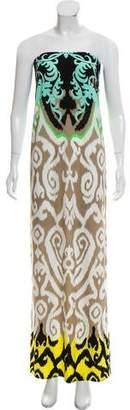 Tibi Printed Maxi Dress