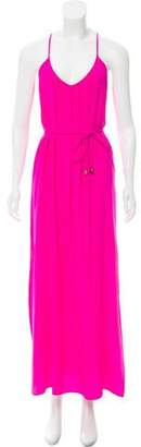 Amanda Uprichard Sleeveless Silk Dress