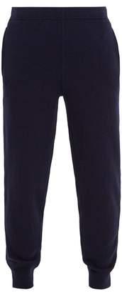 Sunspel Elasticated-waist cashmere track pants