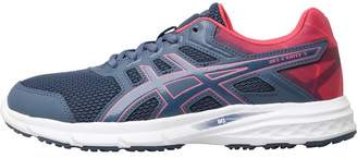 Asics Womens Gel Excite 5 Neutral Running Shoes Smoke Blue/Smoke Blue/Hot Pink