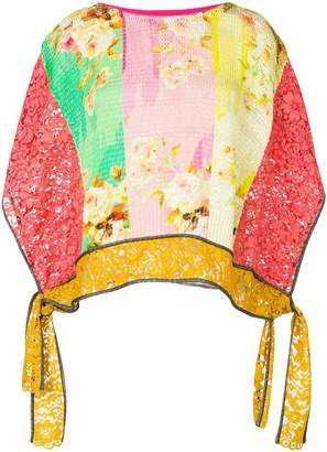 Antonio Marras printed knit jumper