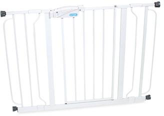 Regalo Easy Step Metal Walk-Through Wide Gate