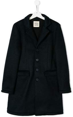 Douuod Kids TEEN single-breasted coat