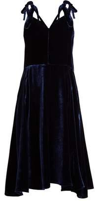 Golden Goose Tosca V-neck velvet dress