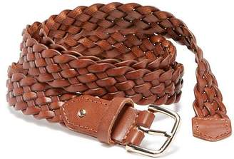 Old Navy Braided Bonded-Leather Belt for Women