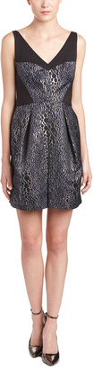 French Connection Sparkle Ray Jacquard Mini Dress