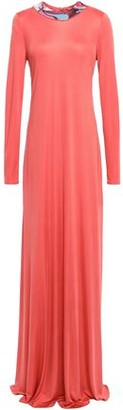 Emilio Pucci Embellished Silk-jersey Gown