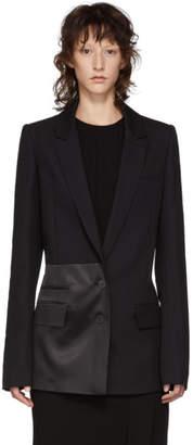 Haider Ackermann Black Contrast Detail Blazer