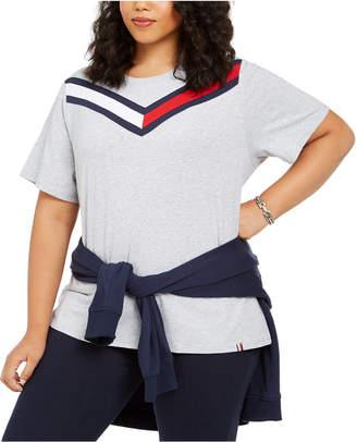 Tommy Hilfiger Plus Size Colorblocked T-Shirt