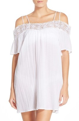 Women's La Blanca 'Island Fare' Cotton Cover-Up Slipdress $79 thestylecure.com