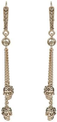 Alexander McQueen Skull Chain Earrings