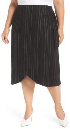 Leith Wrap Midi Skirt