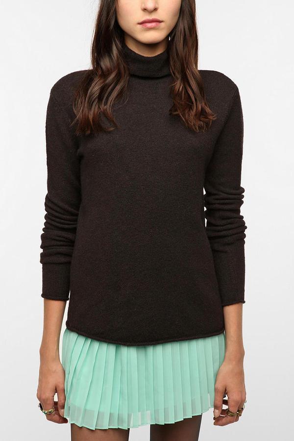 Sparkle & Fade Slouchy Turtleneck Sweater