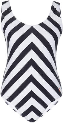 Perfect Moment Chevron One Piece Swimsuit