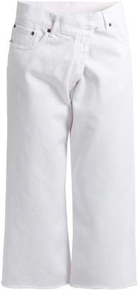 MM6 BY MAISON MARGIELA Cropped boyfriend jeans $370 thestylecure.com