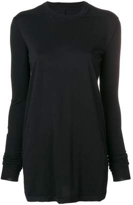 Rick Owens round neck longsleeved T-shirt