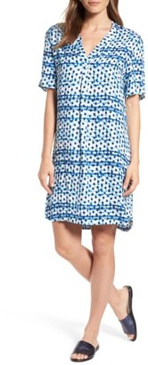 Women's Tommy Bahama Dot Matrix Shift Dress $128 thestylecure.com