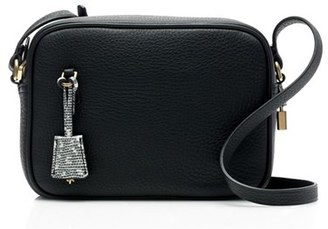 J.crew 'Signet' Leather Crossbody Bag - Black $128 thestylecure.com