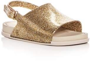 Mini Melissa Girls' Slingback Pool Slide Sandals - Walker, Toddler