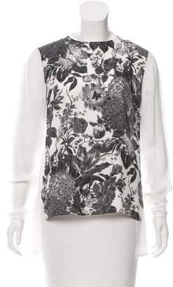 Stella McCartney Silk Floral Blouse