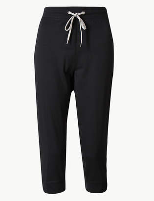Marks and Spencer Quick Dry Cropped Joggers
