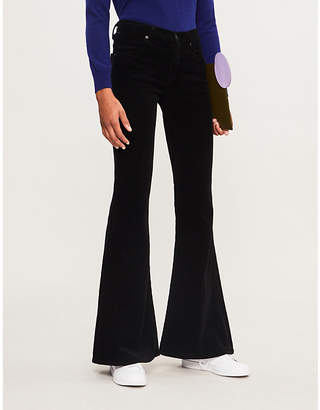 Citizens of Humanity Chloe mid-rise corduroy flared trousers