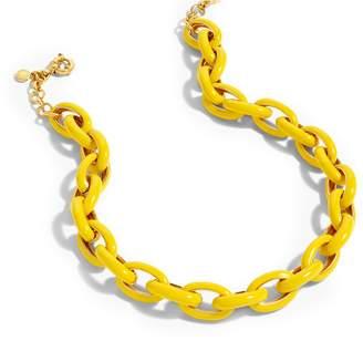J.Crew Enamel Oval Link Necklace