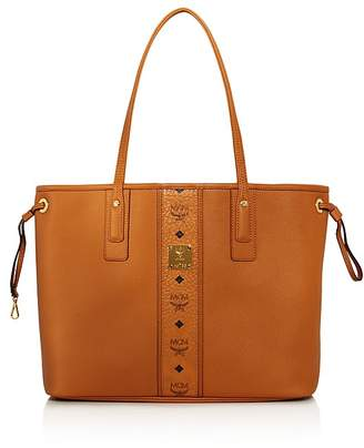 MCM Project Reversible Leather Tote