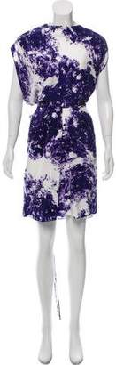 Wayne Printed Silk Dress