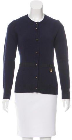 Louis VuittonLouis Vuitton Embellished Wool Cardigan