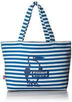 Chums (チャムス) - [チャムス] トートバッグ Reversible Tote Sweat CH60-2186-A052-00 A052 Blue Natural/H-Leaf