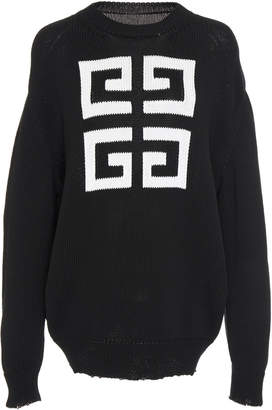 Givenchy Logo-Printed Cotton-Jersey Sweatshirt