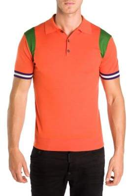 DSQUARED2 Slim-Fit Wool Polo