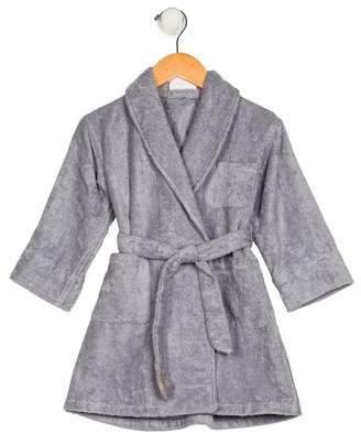 Hermes Boys' Shawl Collar Long Sleeve Robe
