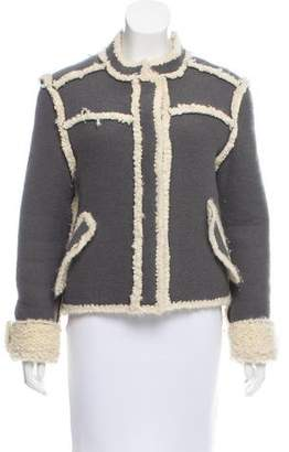 Christian Dior Knit Wool Jacket
