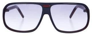 Christian Dior Balck Tie Tinted Shield Sunglasses