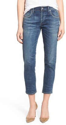 Women's Citizens Of Humanity 'Elsa' Crop Slim Jeans $248 thestylecure.com