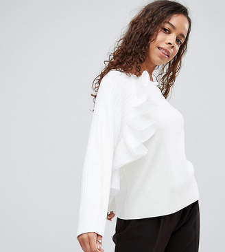 Asos Jumper with Ruffle Detail