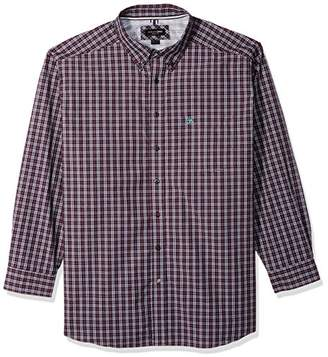 Ariat Men's Big Big Tall Classic Fit Sleeve Button Down Shirt-Pro Series