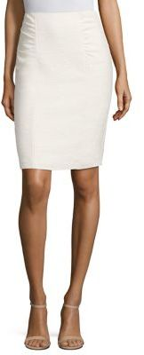 Nanette Lepore Shirred Thing Skirt $278 thestylecure.com