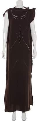 Issey Miyake Sleeveless Maxi Dress