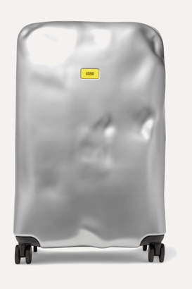 Crash Baggage - Icon Large Metallic Hardshell Suitcase - Silver