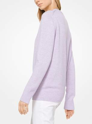 Michael Kors Cashmere and Linen Pullover