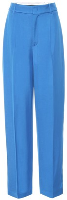 Joseph Quarius Liquid Twill high-rise pants