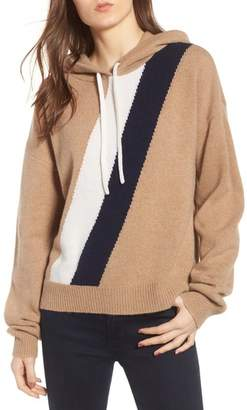 Juicy Couture Stripe Cashmere Hoodie