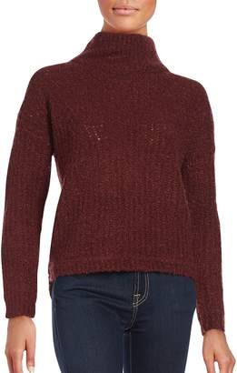 French Connection Women's Long Sleeve Wool-Blend Sweater