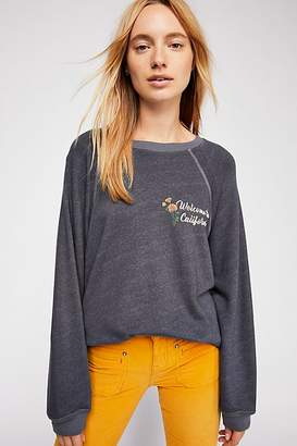 Monrow California Oversized Raglan