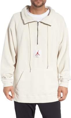 Nike JORDAN Jordan Wings Washed Quarter Zip Sweatshirt