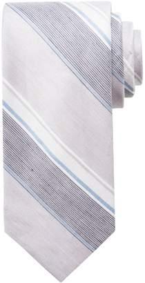 Chaps Men's Harper Striped Linen-Blend Tie